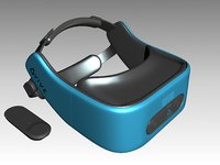 3D vive focus model