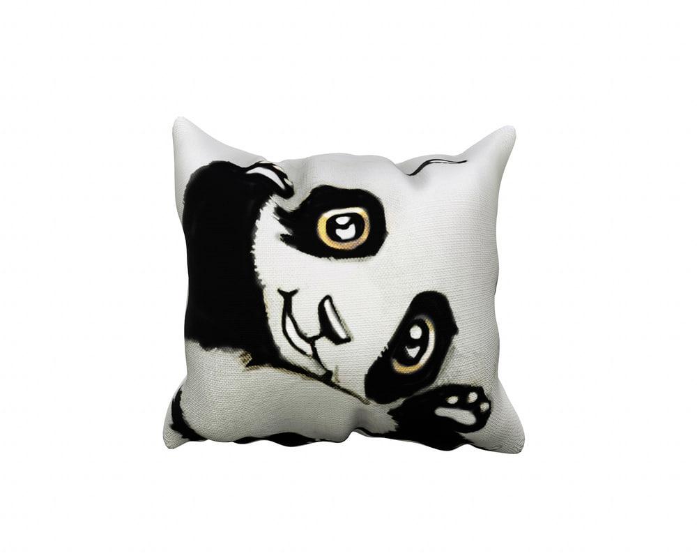 3D decor pillow - panda
