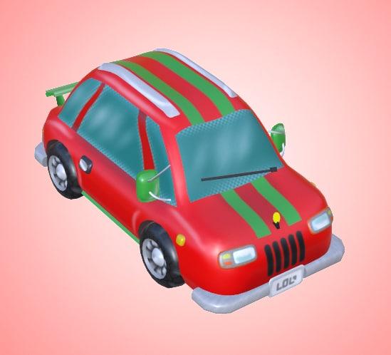 cartoon car mobile games 3D