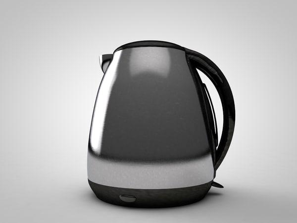 3D kettle model