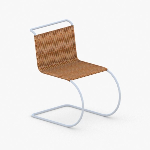 3D interior - modern chair stool