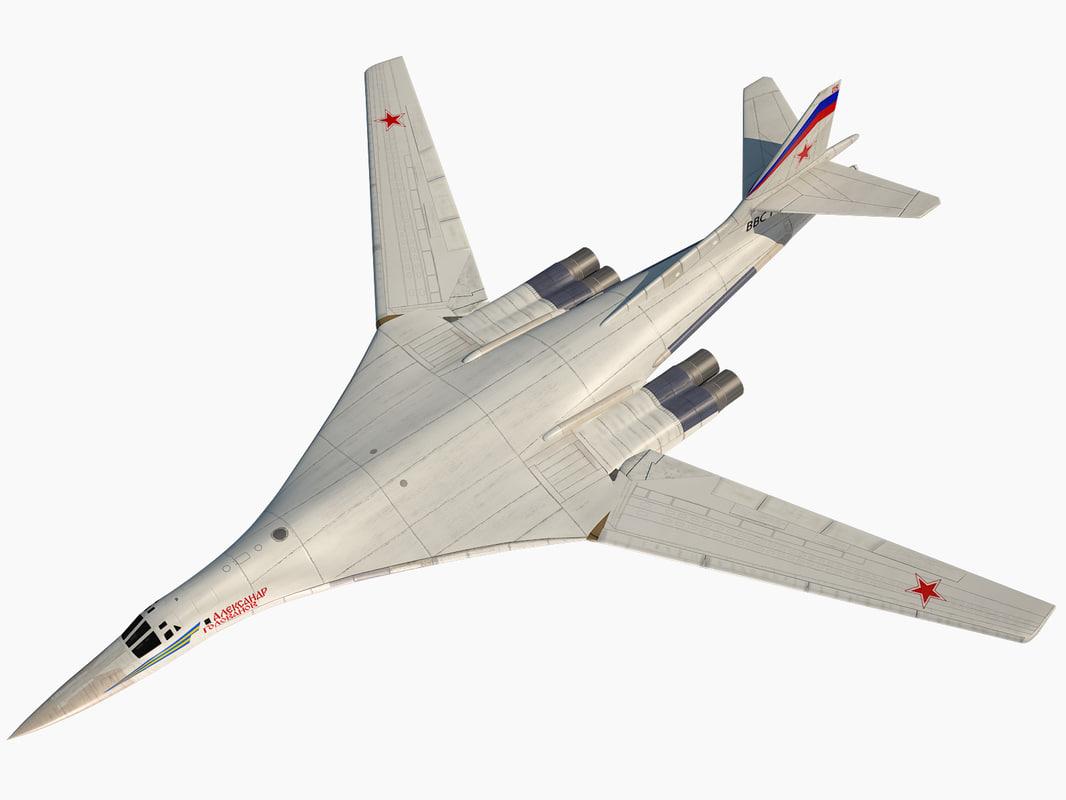 russian strategic bomber tupolev model