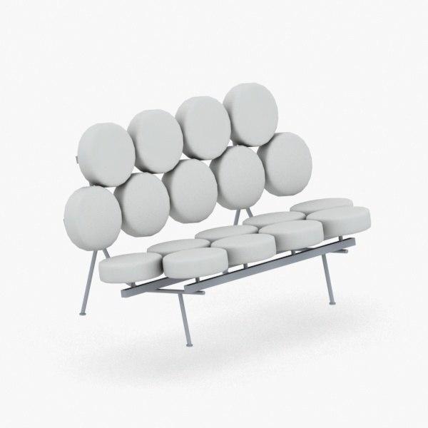 interior - modern armchair 3D model