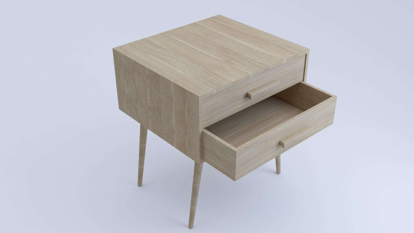 table draw 3D model