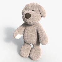 3D dog toy 01