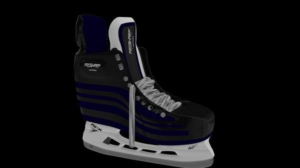 ice hockey skate 3D