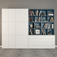3D decor storage combination eket model