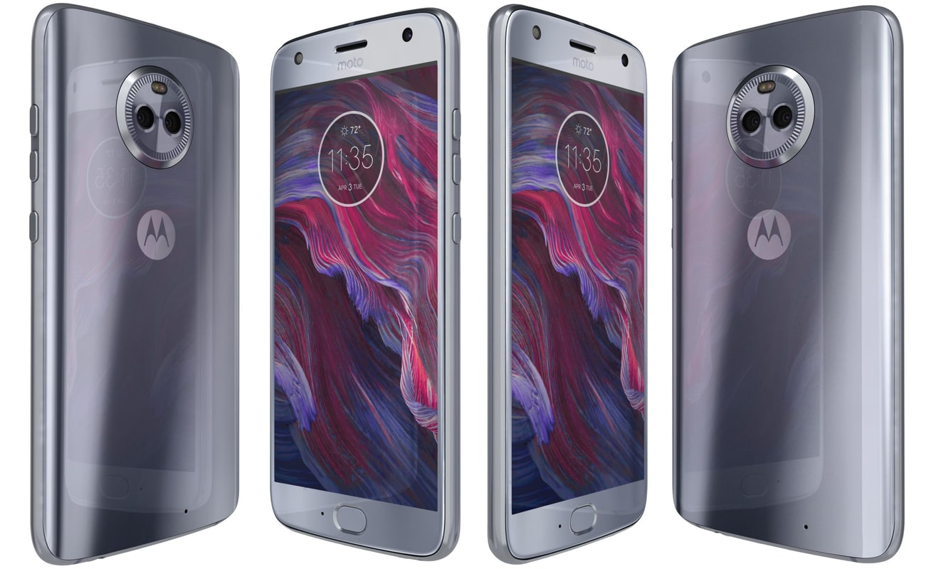 3D model motorola moto x4 sterling