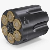 3D revolver cylinder