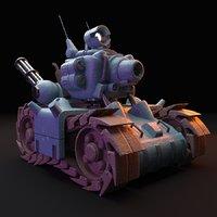 3D metal slug tank