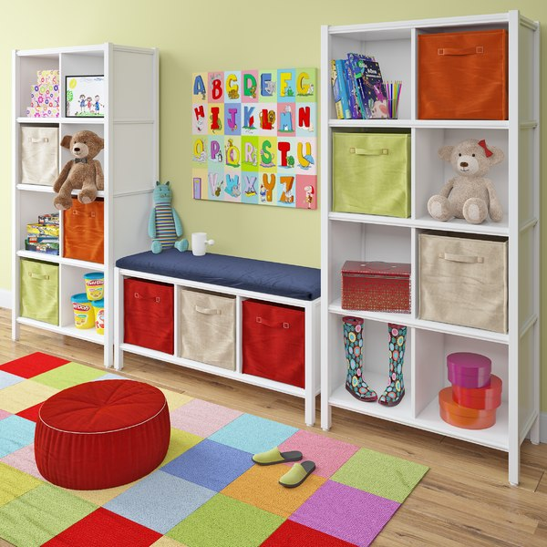 kid room decoration set 3D