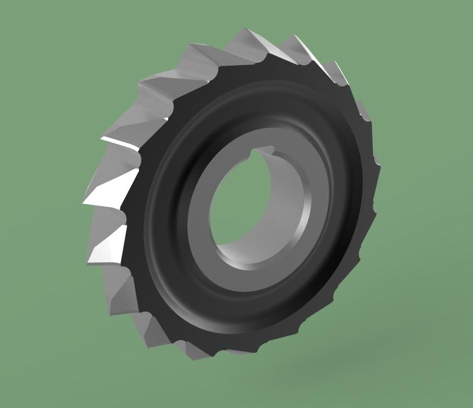 disk milling model