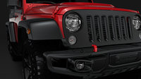 jeep wrangler 6x6 rubicon 3D model