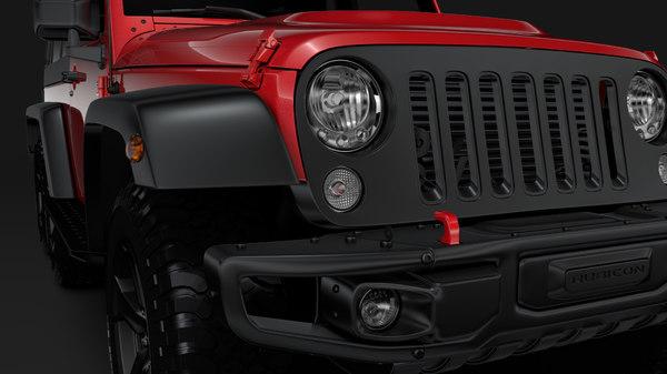 jeep wrangler 6x6 rubicon 3D model