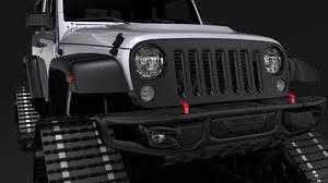 jeep wrangler crawler rubicon 3D