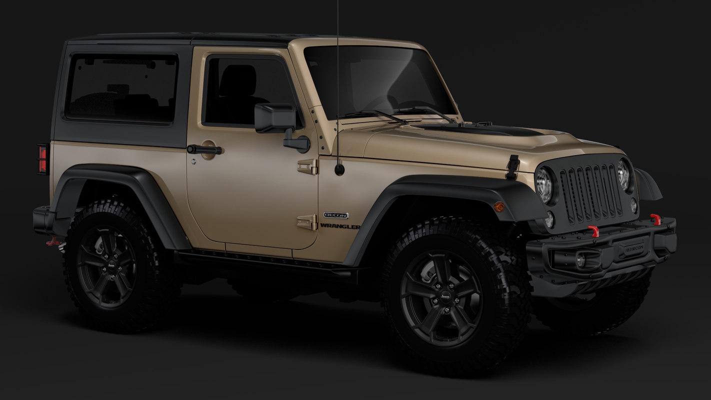 jeep wrangler rubicon recon 3D
