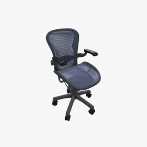 aeron chair herman miller 3D model