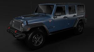 jeep wrangler unlimited rubicon 3D