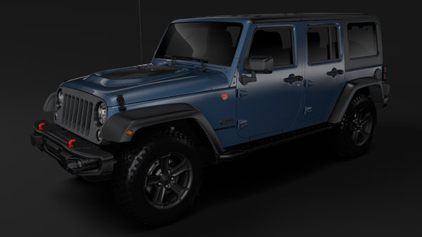 jeep wrangler unlimited rubicon 3D