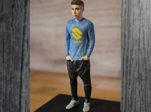 3D justin bieber ready color model