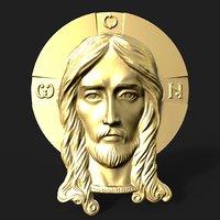 Jesus head pendant
