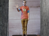 sheldon big bang theory model