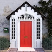 3D model entrance doors