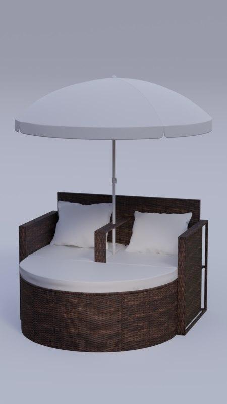 lounge set model