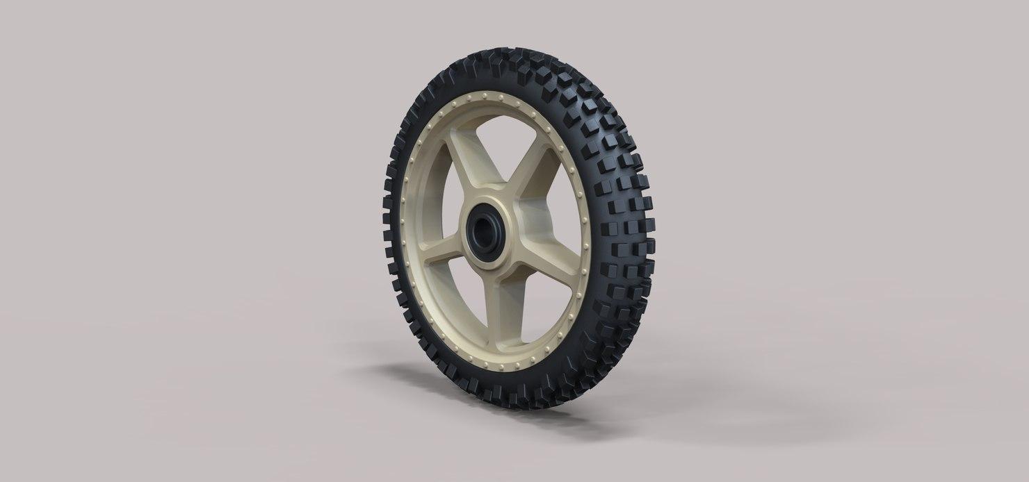 3D wheel offroad