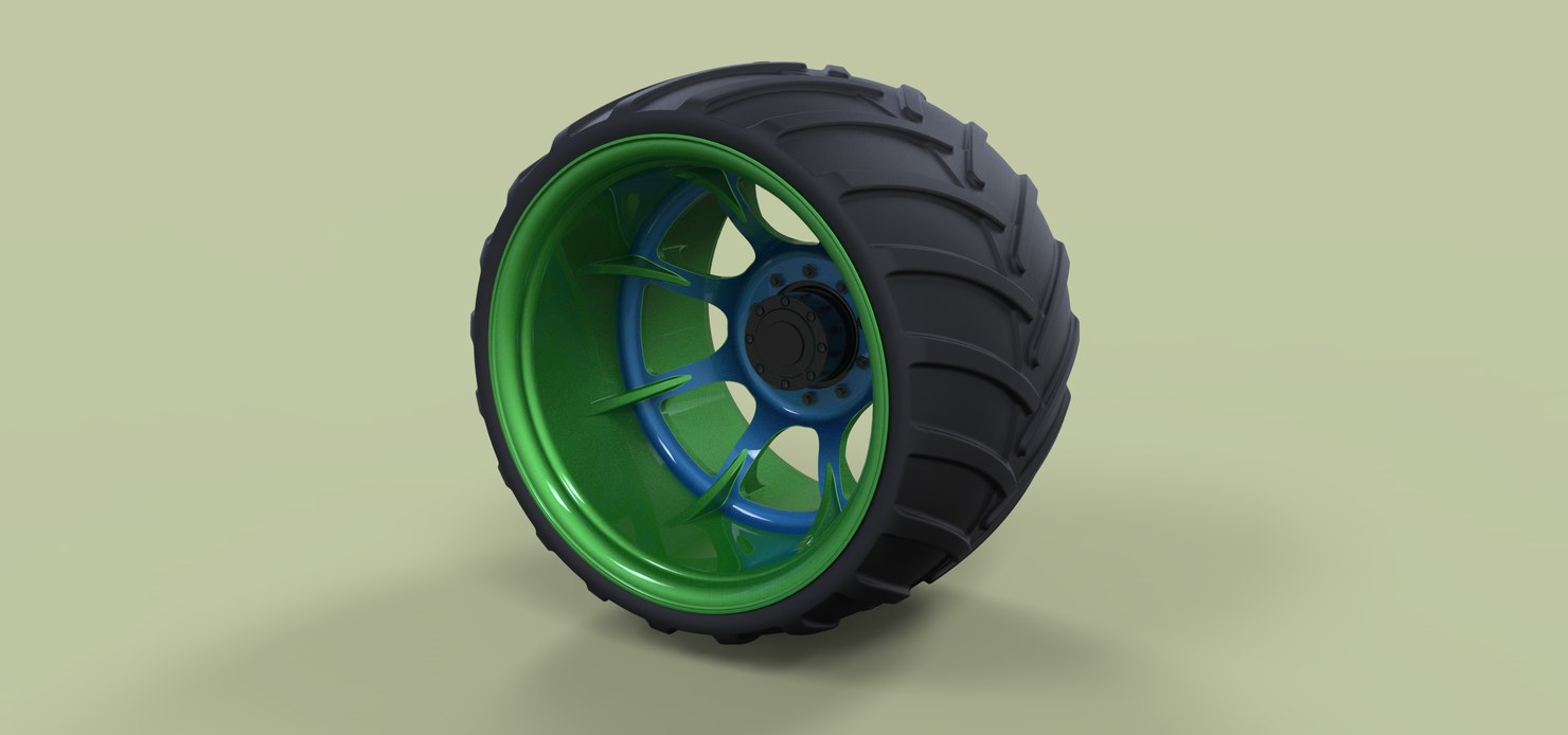 wheel offroad model
