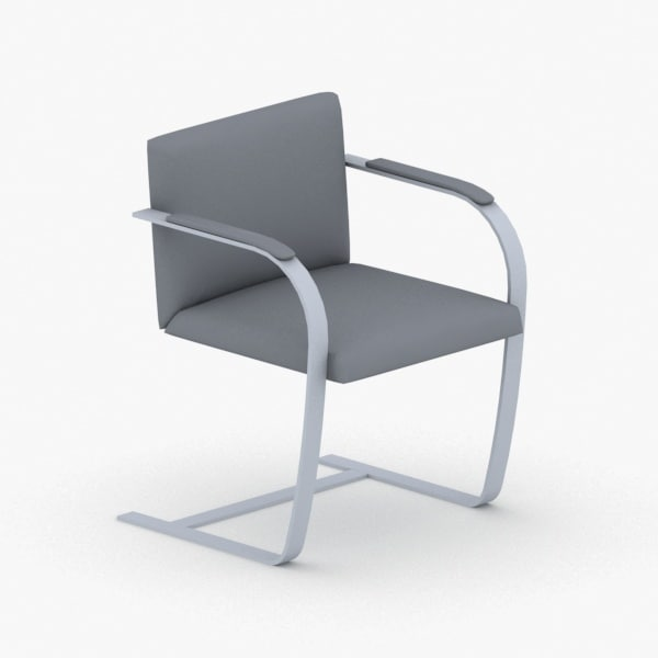 interior - modern chair stool 3D model