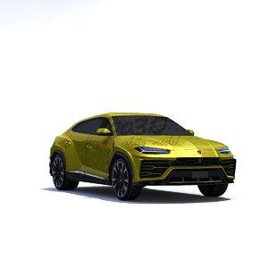 3D urus model