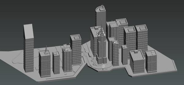 statue liberty new york 3D model