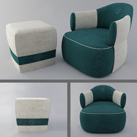 larzia chair pouf 414 model
