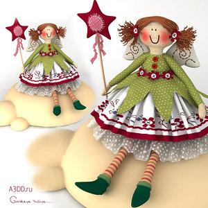 3D dolls textile