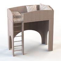 child s room 3D model