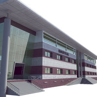 hospital building model