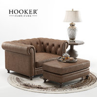 3D hookers alexa armchair model