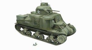 3D m3 lee tank lulubelle