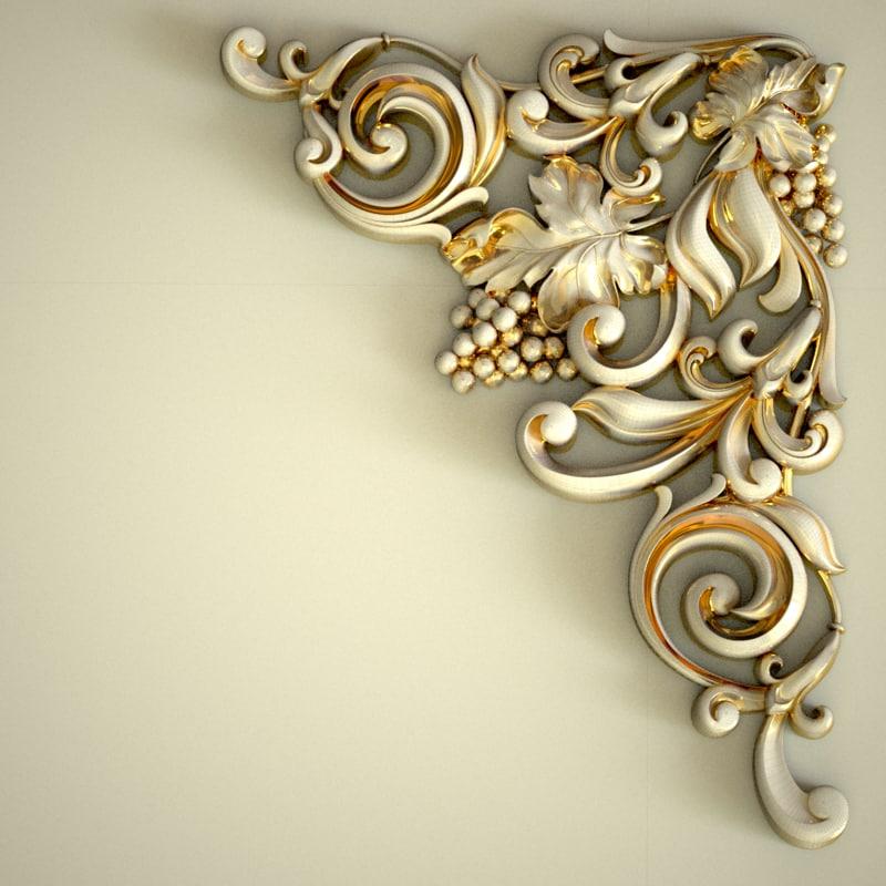 carved corner model