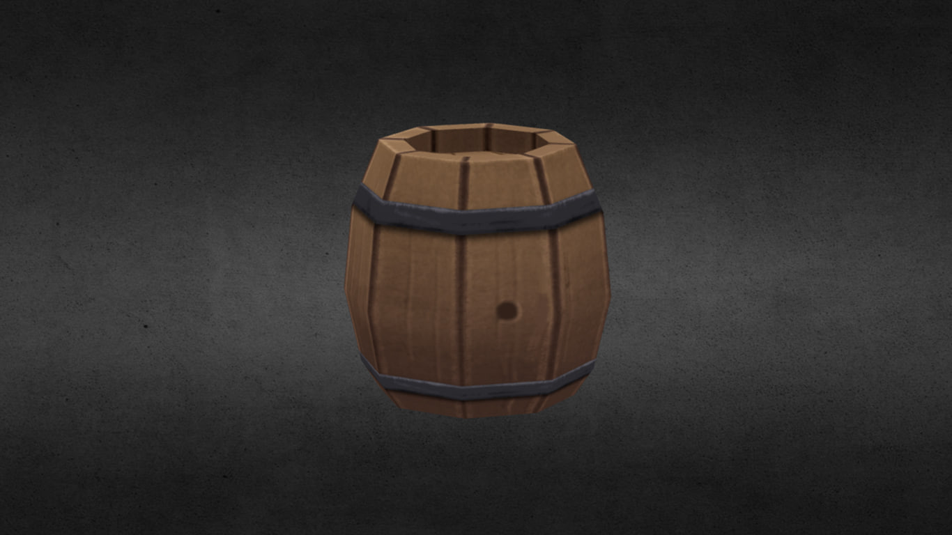 3D handpaint barrel