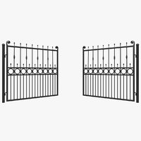 3D gates 2 animation model