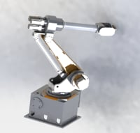 6 axis robots 3D model