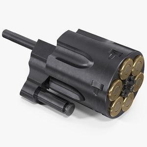 ejector rod cylinder 3D model