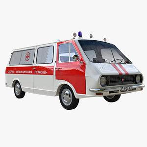 3D raf ambulance model