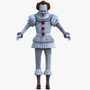 pennywise clowns 3D model
