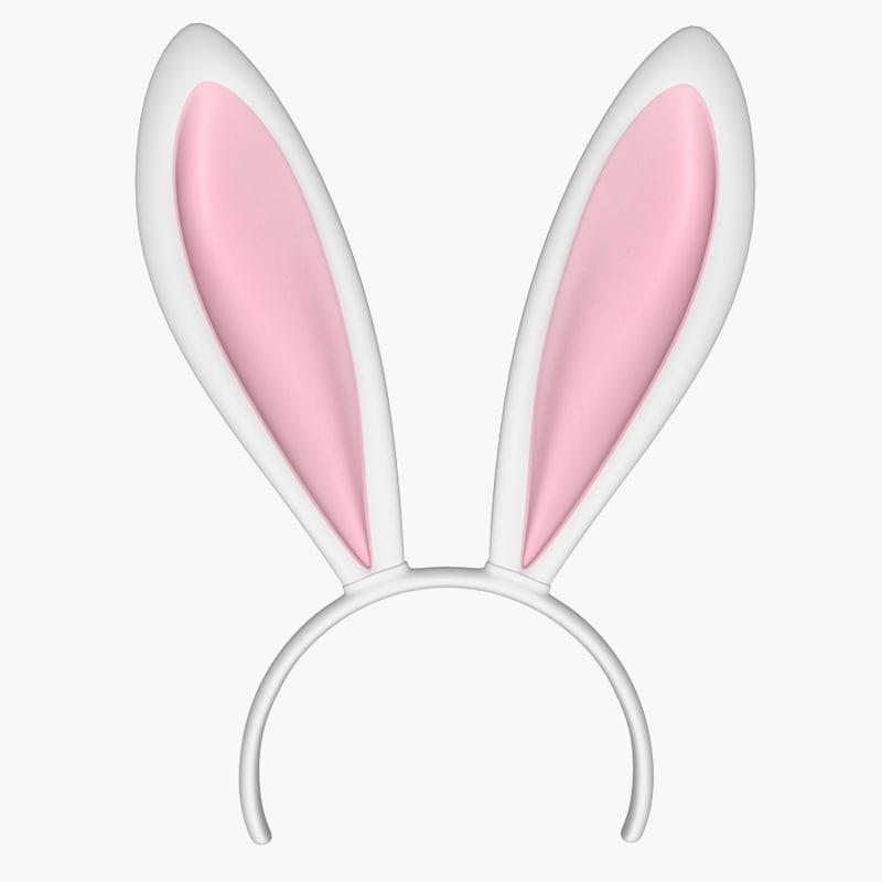 3D bunny ear