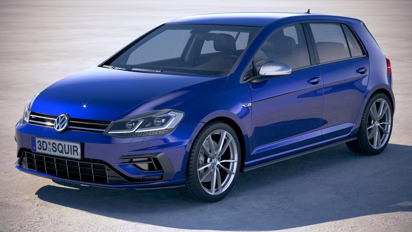 volkswagen golf r model