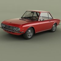 lancia fulvia coupe series 3D model