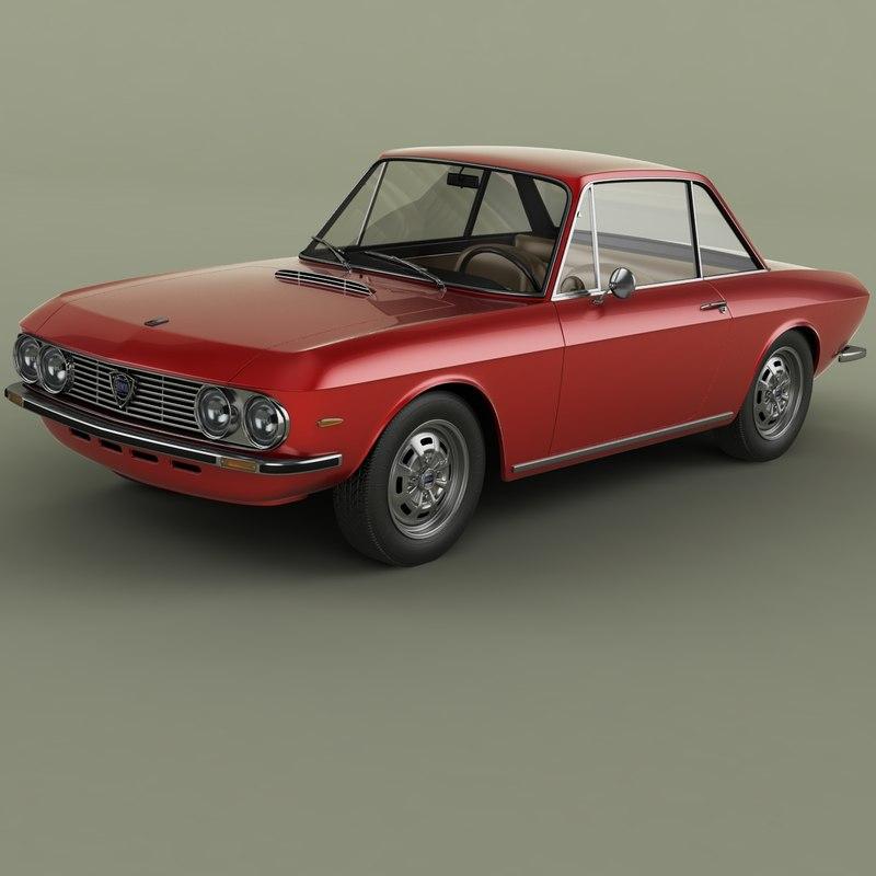 lancia fulvia coupe series 3D model